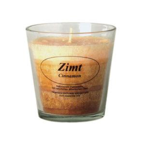Aroma Duftkerze Bio-Stearin Zimt
