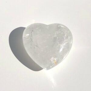 Bergkristall Herz 40mm